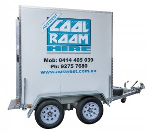 Tandem Axle coolroom